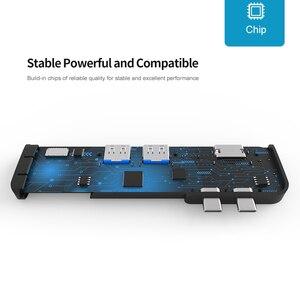 Image 4 - USB 3.0 Type C Hub к HDMI адаптеру 4K Thunderbolt 3 USB C Hub с Hub 3,1 TF SD Reader слот PD для MacBook Pro/Air 3,0 2018