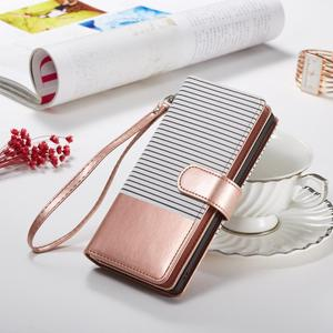 Image 2 - 9 karte Halter Brieftasche Fall für Samsung Galaxy Note 10 Plus Hinweis 9 S10 S9 S8 Plus S10E Flip Leder abnehmbare Magnet Telefon Fall