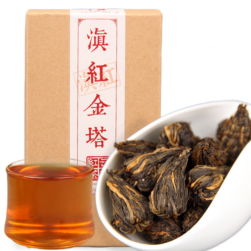170g / box China Yunnan Fengqing Dian Hong Tea Premium DianHong Black Tea Beauty Slimming Green Food for Health Care Lose Weight 1