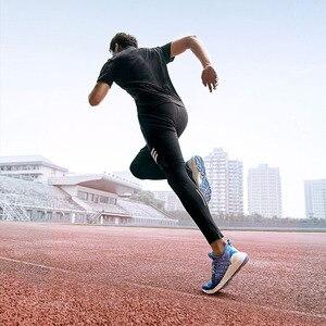 Image 4 - Youpin FREETIE männer Atmungsaktive Polsterung Sneaker Schuhe Hohe Elastizität Gestrickte Oberen Männer Schock absorbieren Outdoor Laufschuhe