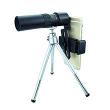4K 10-300X40mm Spotting ScopeTelescope przenośny zakres podróży monokularowy teleskop ze statywem futerał do przenoszenia Birdwatch polowanie tanie tanio 10x300 12mm 25mm CN (pochodzenie) 0 5-3000m BAK4 Z tworzywa sztucznego