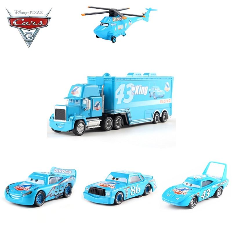 Disney Pixar voitures 3 DINOCO foudre McQueen Jackson tempête Ramirez Mack oncle camion métal Diecasts jouet véhicules enfants voiture cadeau