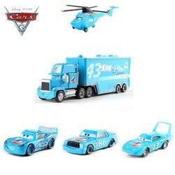 Disney Pixar Cars 3 Dinoco Lightning Mcqueen Jackson Storm Ramirez Mack Oom Truck Metalen Diecasts Toy Vehicles Kids Auto Gift