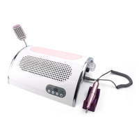 54W Nail LED UV Lamp Vacuum Cleaner Suction Dust Collector 25000RPM Drill Machine Pedicure Remover Polish Tools Set With Lamp