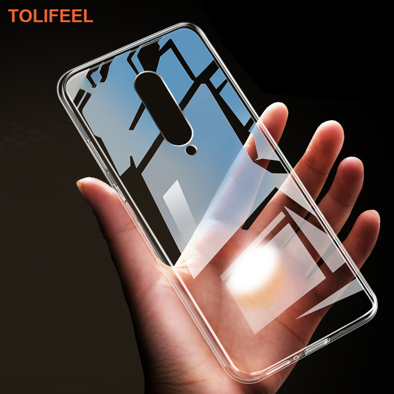 TOLIFEEL For OnePlus 8 Pro 7 7T 6 6T 5 5T 3 3T One Plus Case Silicone Cover Transparent Soft Shell For OnePlus 7 7T Pro 5G Cover