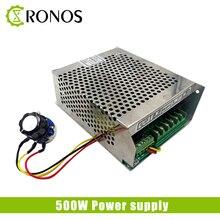 500 Вт источник питания шпинделя 220 В 110 В Mach3 6A 50/60 Гц, мощность шпинделя, CNC Регулируемая импульсная мощность