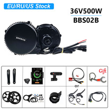 Electric-Bicycle-Conversion-Kits Ebike Mid-Drive-Motor Central Bafang Bbs02b 36v 500w