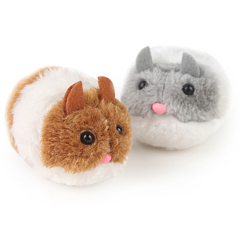 Cute Cat Toys Plush Fur Little Mouse Interactive 6