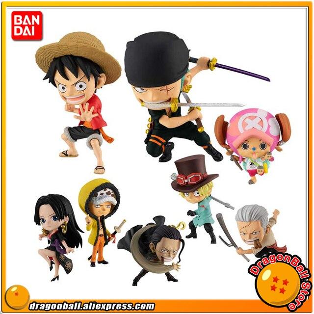 """ONE PIECE"" BANDAI ADVERGE MOTION STAMPEDE Collection Figure   Luffy Zoro Law Sabo HANCOCK Tony Tony Chopper Smoker Crocodile"