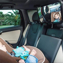 купить Car Safety Easy View Back Seat Mirror Baby Facing Rear Ward Child Infant Care Square Safety Baby Kids Monitor Car Accessories дешево