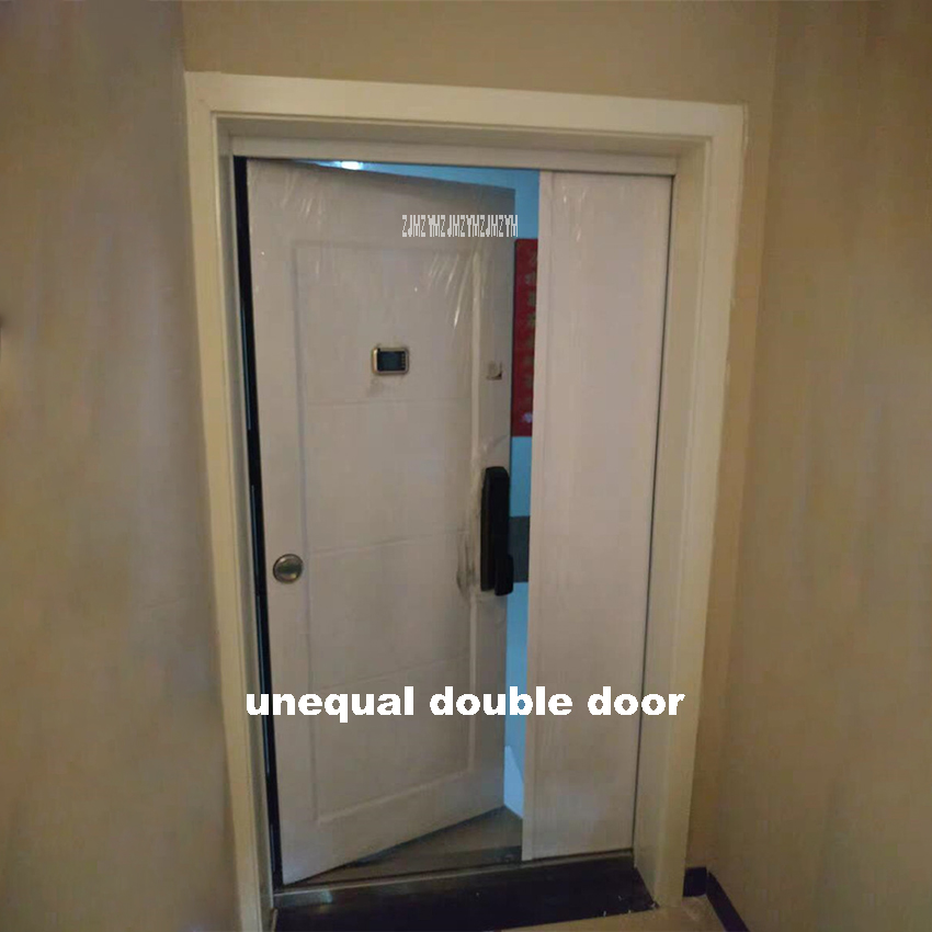 KR-9005 Household Double Door With Unequal Leaves Burglarproof Door Anti-Theft Security Door Intelligent Lock/Mechanical Lock