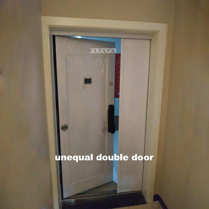 KR-9005 ménage Double porte avec feuilles inégales Anti-effraction porte Anti-vol porte de sécurité serrure intelligente/serrure mécanique