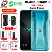 Original Xiaomi Gaming Mobile Phone Black Shark 2 Dual SIM 6.39 6GB 128GB Snapdragon855 48MP 4000mAh OTA Update Android Phone