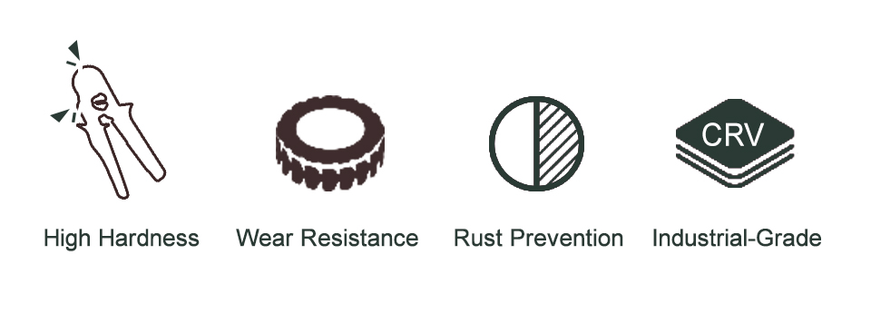 high hardness and wear resistance