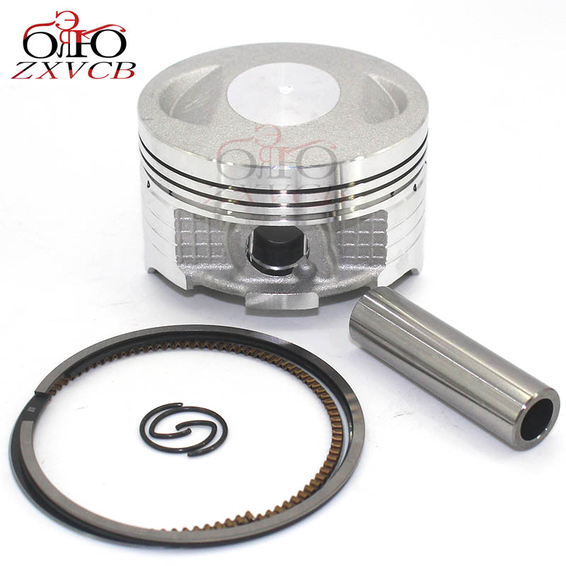 <font><b>62MM</b></font> Motorcycle <font><b>Piston</b></font> for honda CG150 ZJ150 CG ZJ 150 Engine cylinder <font><b>Piston</b></font> ring image