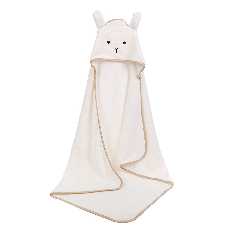 DiscountêBath-Towel Blanket Hood Toalla Velvet Spa Baby Poncho Fleece Newborn-Baby Bebe Infant`