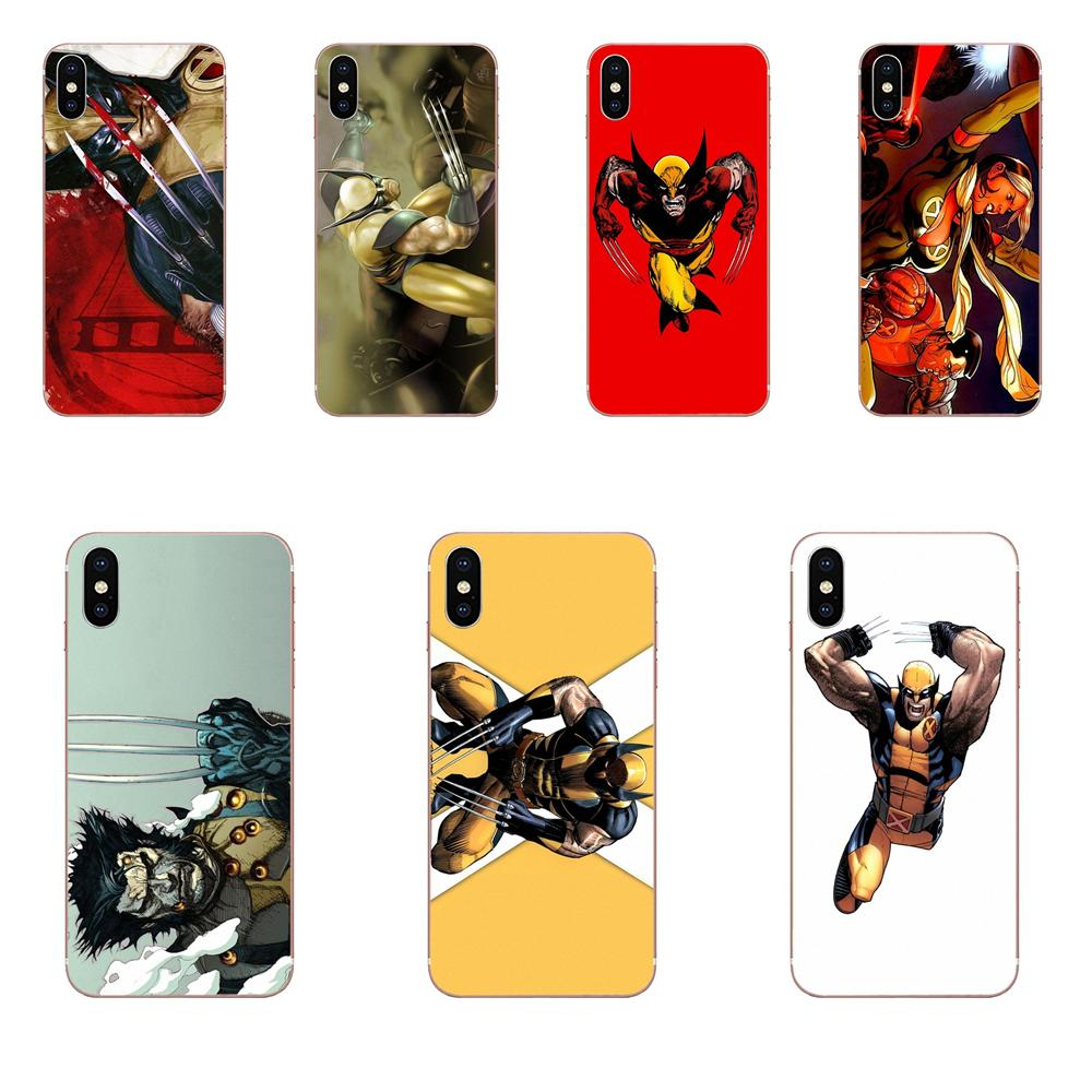 Wolverine Comics For Huawei P7 P8 P9 P10 P20 P30 Lite Mini Plus Pro Y9 Prime P Smart Z 2018 2019 Soft TPU Protector Cases image