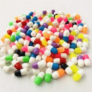 Горячая DIY таблетки смолы бусы для серьги ювелирных изделий, Многоцветный 50 шт./лот 5*11,5 мм с половинчатым отверстием