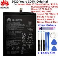HuaWei-batería Original para Huawei Honor 7 9 P9 P10 P8 Lite, Mate 8 9 10 20 Pro P20 Pro Nova 2 Plus honor 8 5C 7C 7A