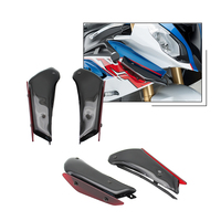 Motorcycle Accessorie Fairing Panel Cover Case DOWNFORCE SPOILERS for BMW S1000RR 2015 2018 HP4