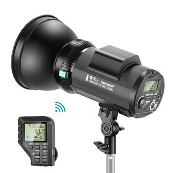 Neewer i6T EX 600W 2.4G TTL Studio Strobe 1/8000 HSS Flash Monolight Compatible with Sony, Wireless Trigger/Modeling Lamp/Recycl