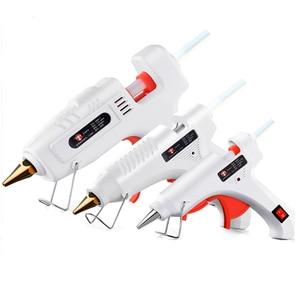 Hot Melt Glue Gun 110-240V 40-120W High Power Glue Gun EU Plug DIY Repair Tool Hot Glue Gun 10PCS Melt Glue Sticks(China)