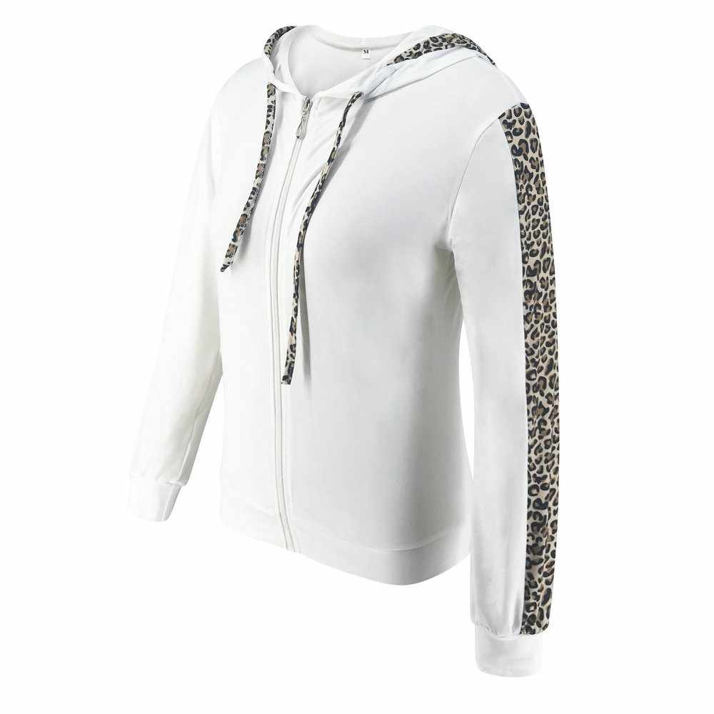 女性の Leopard プリント巾着セクシーなカジュアルツーピースジョギング + 女性の冬のスーツ
