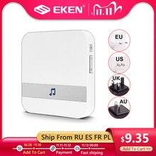التيار المتناوب 110 220 فولت الذكية داخلي جرس الباب الرنين اللاسلكية جرس باب مزود بتقنية WiFi الولايات المتحدة الاتحاد الأوروبي المملكة المتحدة الاتحاد الافريقي التوصيل XSH app ل EKEN V5 V6 V7 M3