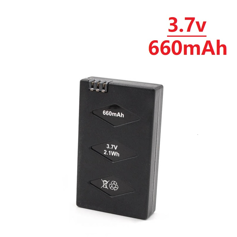 Original 3.7V 660mAh 20C Li-po Battery + Charger For Parrot Mini Drone For Parrot Jumping Sumo Swing Mambo Rolling Spider