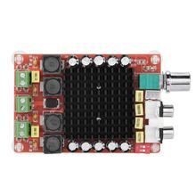 TDA7498 Класс D высокомощная цифровая плата усилителя 2x100 Вт усилители amplificador аудио DC 12 В 24 В