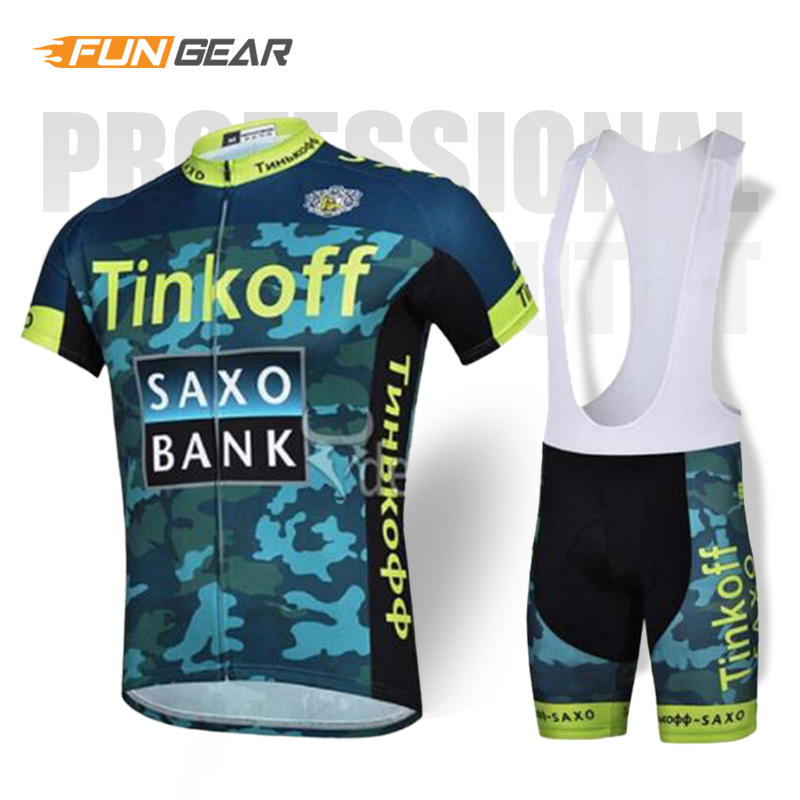 Tinkoff Pro Team Cycling Jersey set Cycling Clothing Triathlon Mens Bib Shorts Summer Cycling Suit Roupa Ciclismo Bike Uniform in Cycling Sets from Sports Entertainment