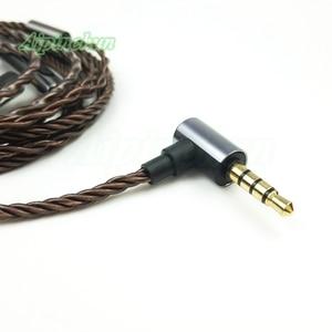 Image 4 - Aipinchun MMCX Headphones Cable Mic Volume Controller Replacement for Shure SE215 SE315 SE425 SE535 SE846 3.5mm L Bending Jack