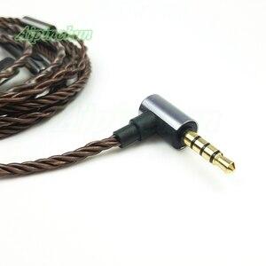 Image 4 - Aipinchun mmcx 헤드폰 케이블 마이크 볼륨 컨트롤러 교체 shure se215 se315 se425 se535 se846 3.5mm l 벤딩 잭
