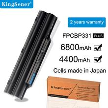 KingSener Japanese Cell Original New Laptop Battery for Fujitsu LifeBook A532 AH532 AH532/GFX FPCBP331 FMVNBP213 FPCBP347AP 48WH