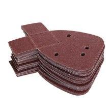 40 шт шлифовальные диски 40/60/80/120 Грит
