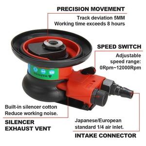 "Image 2 - FivePears Pneumatic Sanding Machine 125MM 5"" Eccentric 5MM Random Orbital Air Sander Pneumatic Tools"