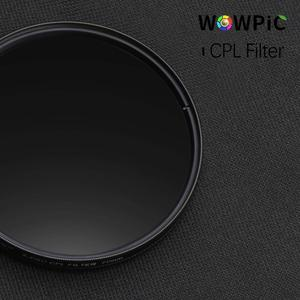 Image 4 - Filtro de lente polarisatie, filtro de lente wowpic cpl 49 52mm 55 58mm 62 67 72 77mm 82mm foto para canon nikon sony penter dslr cam