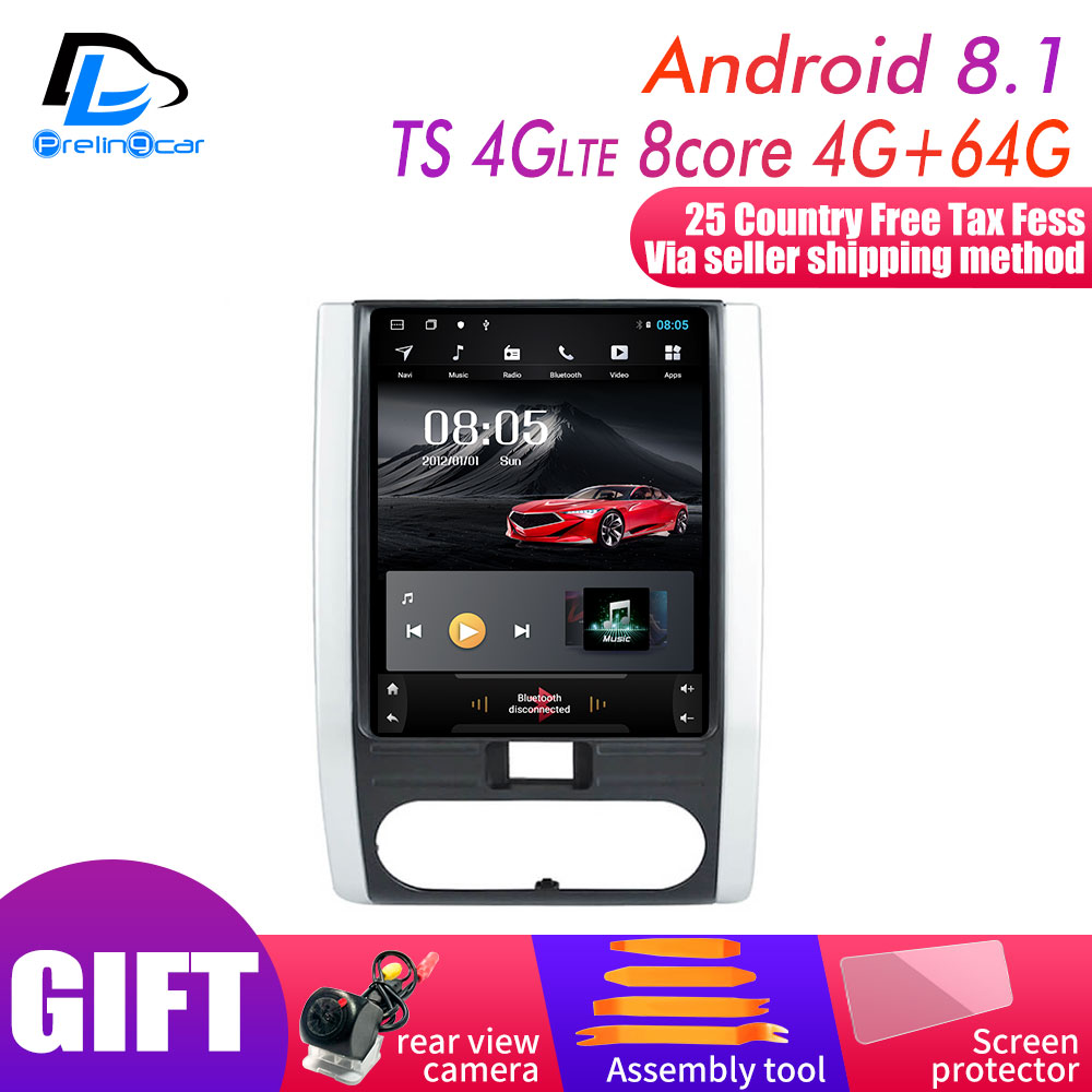 32G ROM Vertical Screen Android 9.0 Car Gps Multimedia Video Radio Player Dash For Nissan MX6 X-trail T31 Car Navigaton Stereo
