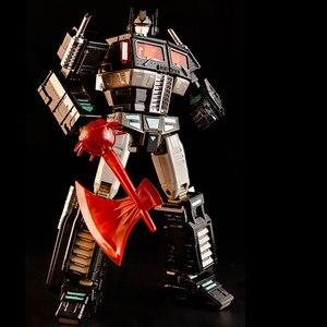 Image 3 - Dönüşüm KBB MP10V MP 10V OP komutanı G1 alaşım koleksiyonu Voyager kamyon modu Anime aksiyon figürü Robot çocuk oyuncak araba modu