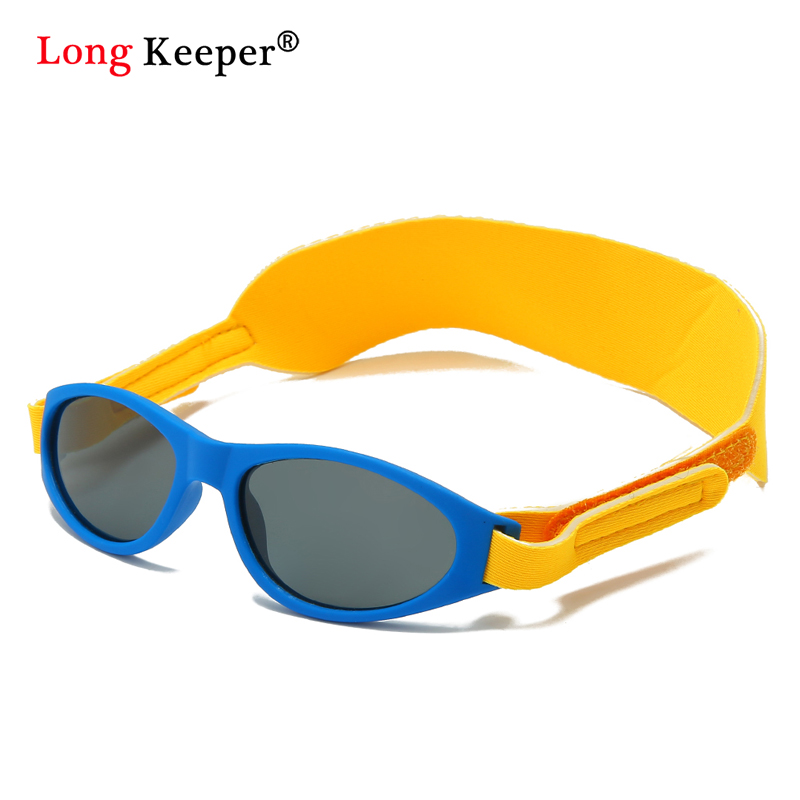 Kids TR90 Polarized Sunglasses Children Safety Brand Glasses Flexible Rubber Oculos Shades Boys Girl With Headband Eyeglasses