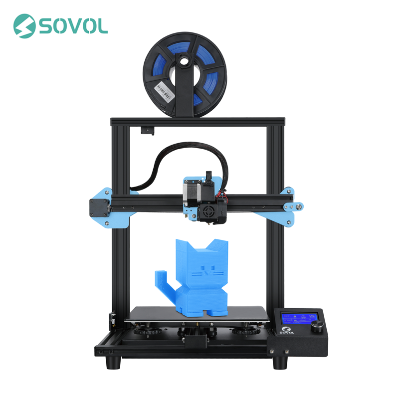 Sovol SV01 3D Printer Direct Drive Extruder 280*240*300mm Meanwell Power Supply Tempered Glass Bed 95% Pre-assembled Stampante