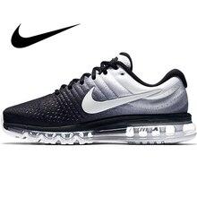Original Nike AIR MAX 2017 Men's Running Shoes Sport Outdoor Mesh Breathable Sne