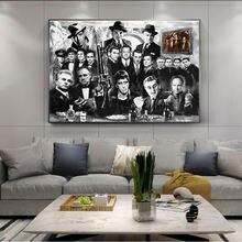 Настенные постеры в классическом стиле с изображением кинофильмов