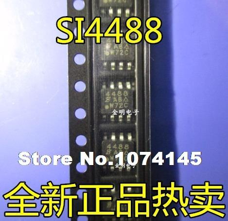 10pcs/lot SI4488DY-T1-E3 SI4488DY SOP8 N 150V 3.5A MOS