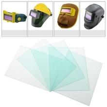 5 Pcs 115x90mm Protective Plastic Plate Auto Dimming Solder Mask Solder Filter Soldering Helmet