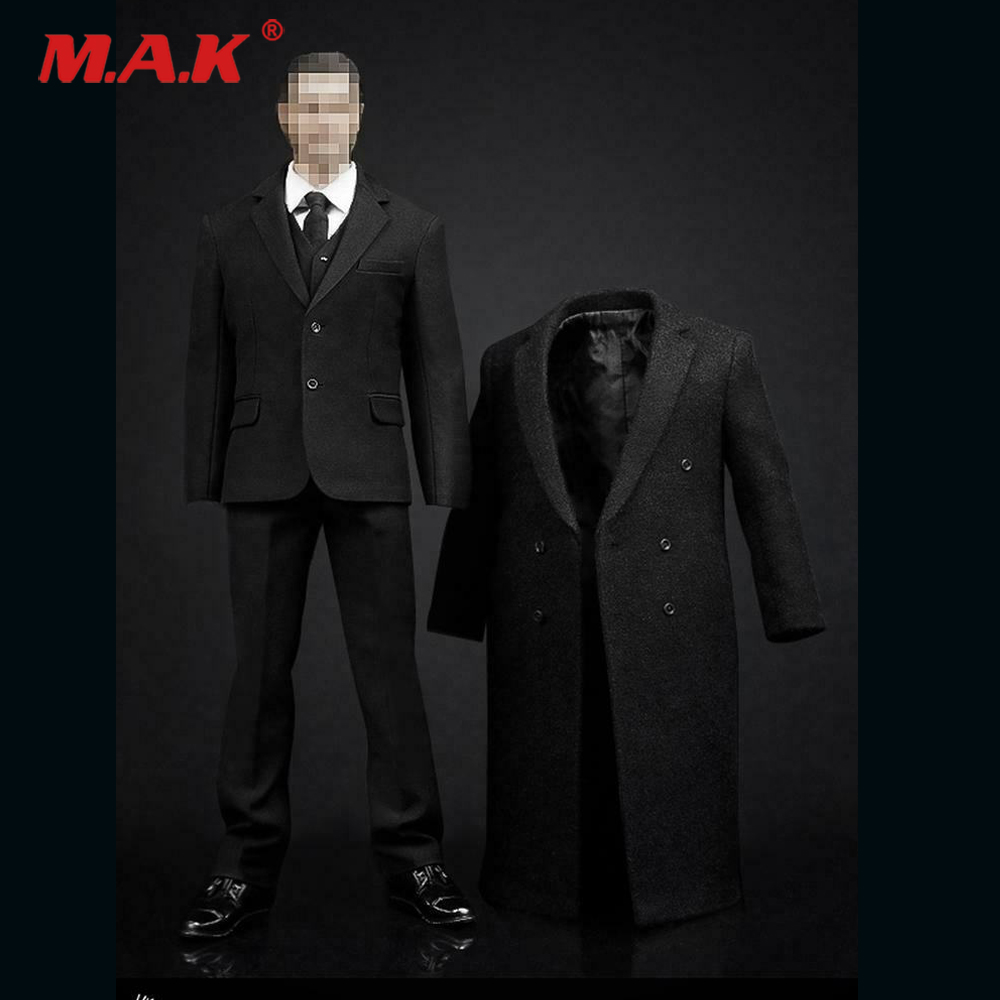 "POPTOYS POP-X27-B 1//6th Male Clothes Suit For 12/"" Action Figure Hot Toys Blue"