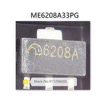 50 pçs/lote ME6208A33PG SOT89 6208A 3.3V 100% original Novo