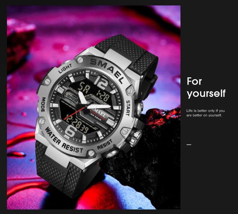dwaterproof água relógios de pulso led digital