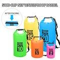 PVC Waterproof Bag 2L/5L/10L 20L Outdoor Diving Compression Storage Waterproof Bag Dry Bag For Man Women Swimming Rafting Kayak