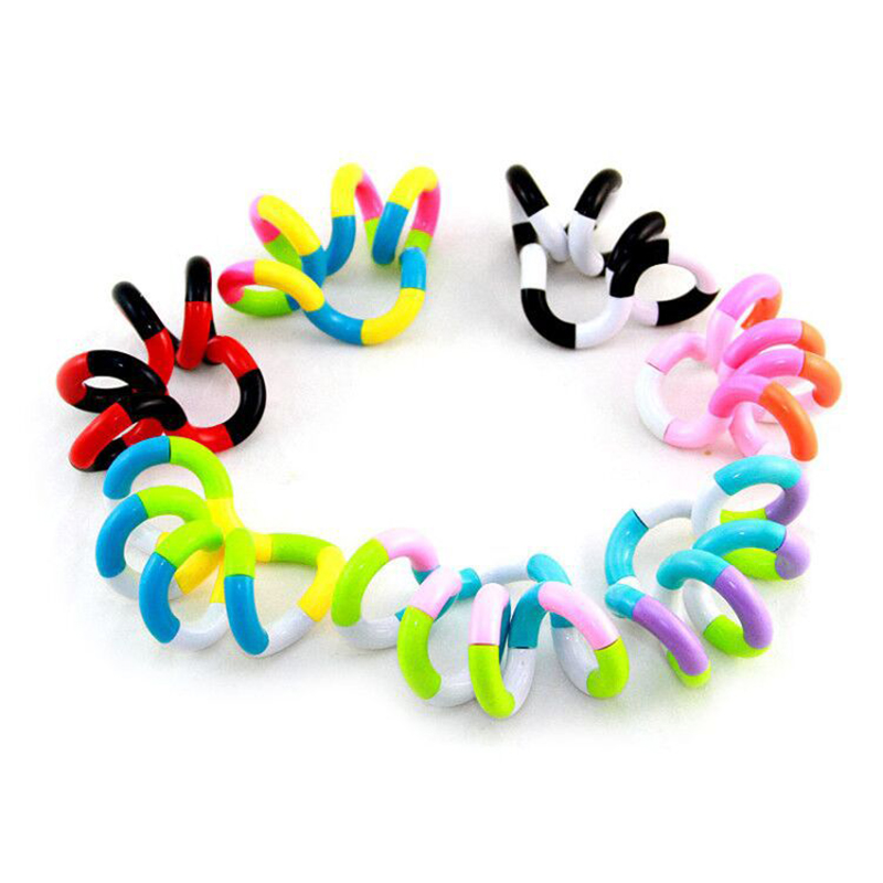 Toy Decompression-Toy Autism Perfect-Stress New Fidget Gift Colorful Adult Child Twist img2